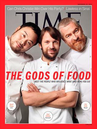 全球週刊封面故事:食物之神(時代雜誌)