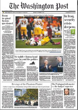 巴格達驚傳汽車炸彈,伊拉克危機加劇(華盛頓郵報 )+安倍說,日本準備制衡中國(華爾街日報)