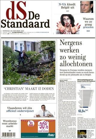 上崗外籍人士比例超低 比利時奇觀(20131029 比利時標準報)