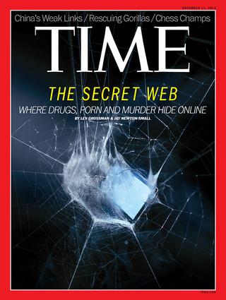 全球週刊封面故事:網路上的犯罪溫床(時代雜誌)