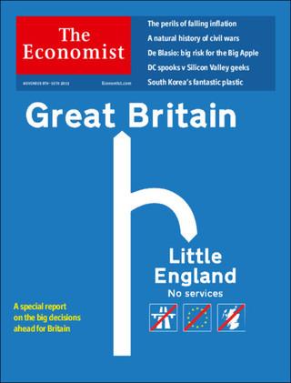 全球週刊封面故事:大小英國的叉路抉擇(經濟學人)