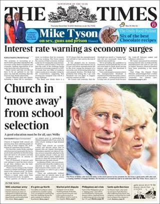 教會學校與教會宗旨脫節(20131114 泰晤士報)
