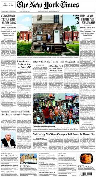 伊朗大使館遭炸彈攻擊 盟友阿薩德氣炸(20131120 紐約時報)