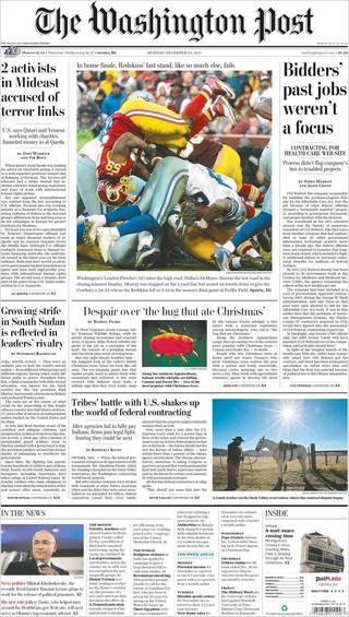 吃光聖誕樹的蟲蟲(20131223 華盛頓郵報)