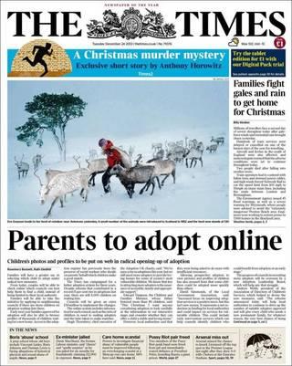 英父母只要上網就能領養兒童(20131224 泰晤士報)