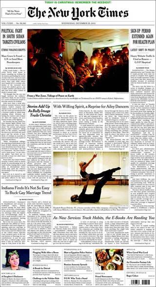 南蘇丹內戰 平民成箭靶(20131225 紐約時報)