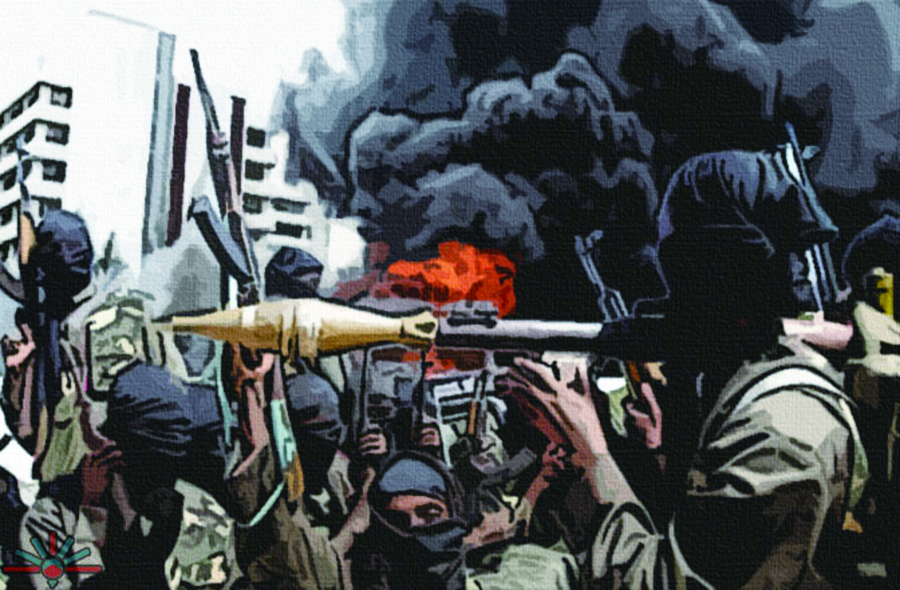 伊斯蘭極端組織「博科聖地」近年在奈及利亞國內造成動盪不安。(上:photo by AK Rockefeller on Flickr – used under Creative Commons Lisence / 下:by 維基百科)