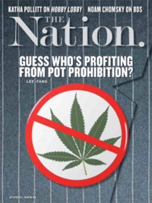 全球周刊封面故事:美國禁用大麻 誰受益?(20140720 國家雜誌)