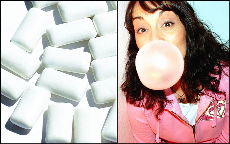 研究顯示,患者在手術前嚼食口香糖,不致增加麻醉後嘔吐風險。(photo by維基百科 & pixabay.com)