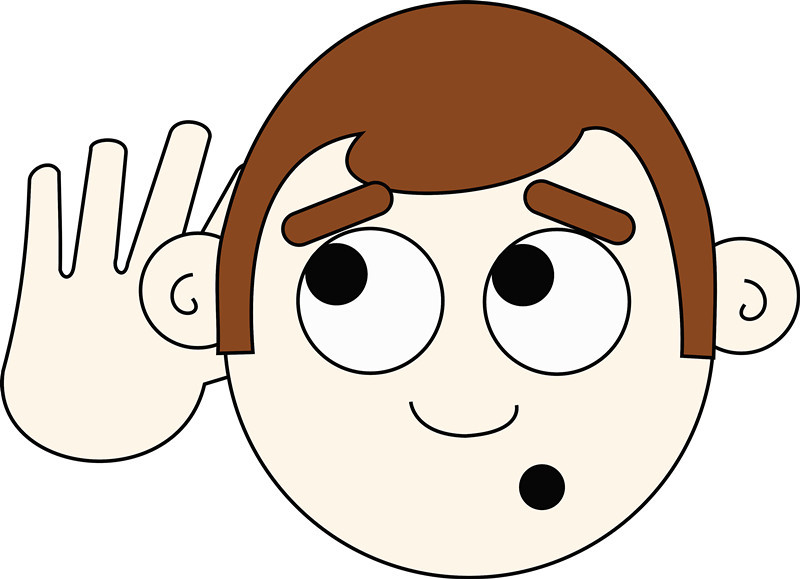 醫師表示,若有耳鳴、耳悶合併單側聽力明顯減退的狀況,要小心「聽神經瘤」壓迫大腦神經細胞。(photo by openclipart.org)