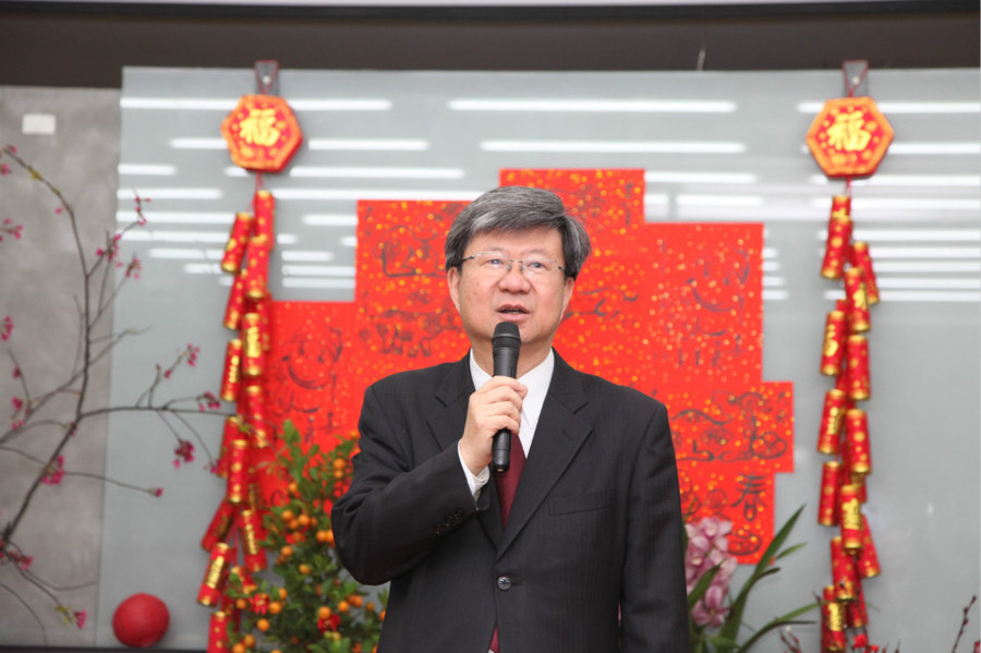 教育部長吳思華24日宣示教育部3大目標。(photo by 教育部)