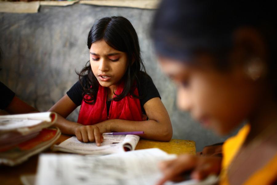 研究顯示,大腦的大小可能影響孩子學習的成效。(photo by Wikipedia)