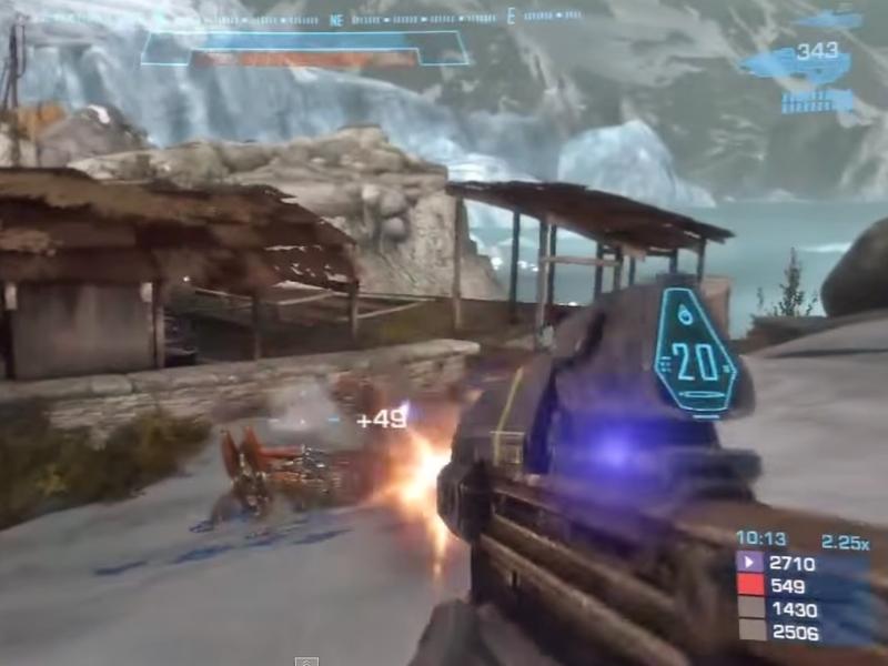 研究指出,涉及暴力的電玩若以合作模式進行,將會減緩玩家的侵略性,圖為《最後一戰:瑞曲之戰》遊戲畫面。(photo by 網路截圖)