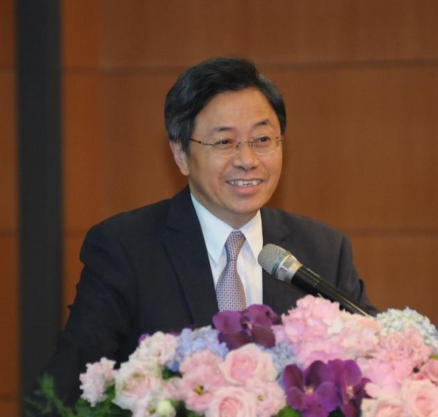 行政院副院長張善政表示,軟體服務時代來臨,物聯網是台灣的機會。〈photo by鄭國強/台灣醒報〉