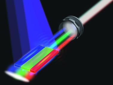 白色雷射光除了能取代LED燈外,也可應用在下一代可見光通訊Li-Fi的技術。(photo by 亞利桑那州立大學)