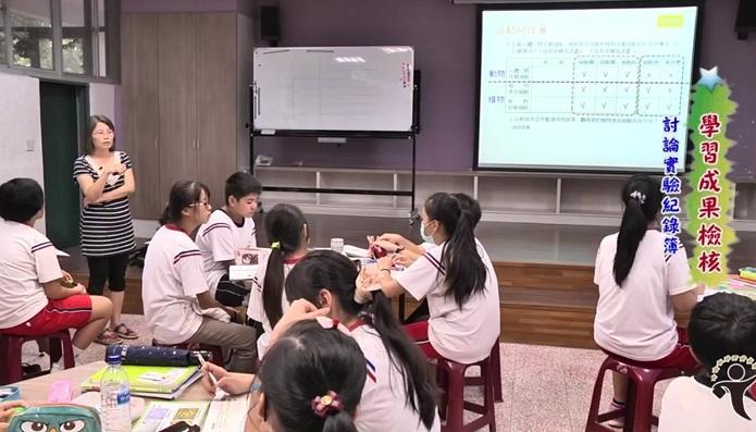 教育部邀請5位國中教師拍攝網路教學影片,助偏鄉教師精進課程教學。(photo by 教學影片截圖)