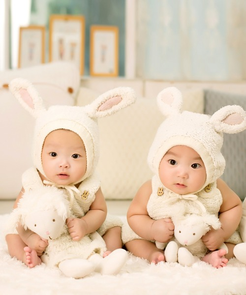 不同於同卵雙胞胎,異卵雙胞胎是由兩個卵子發育而成的;相比之下,科學界也較不瞭解異卵雙胞胎。 (Photo by Pixabay)