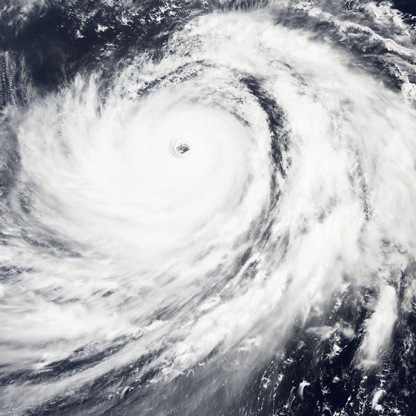 女聖嬰有5成機率在8到10月生成,台灣在下半年將面對多颱的氣候。(photo by wikimedia)