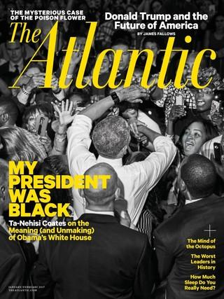 全球週刊封面:我的總統是黑人:歐巴馬的功與過 (20161225 大西洋月刊)
