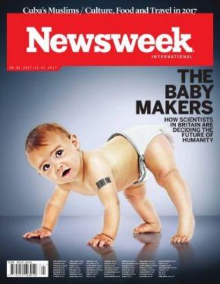 全球週刊封面:人類基因改造的潘朵拉盒子 已開啟 (20170108 新聞週刊)