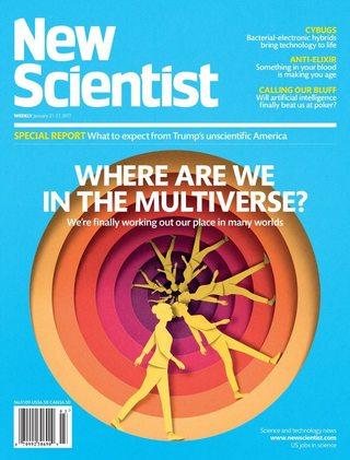 全球週刊封面:多重宇宙,我們在哪? (20170122 新科學人)