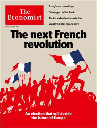 全球週刊封面:法國再革命(20170303 經濟學人)