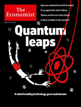 全球週刊封面:第二次量子革命 (20170312 經濟學人)