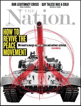 全球週刊封面:川普時代的和平運動 (20170319 國家)