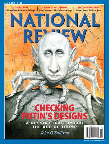 全球週刊封面:相信川普對俄國 是真的有辦法 (20170319 國家評論)