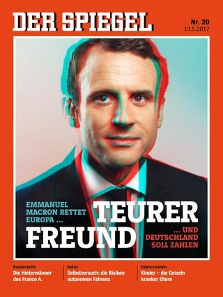 全球週刊封面:  舊的法國,新的總統 (20170514 明鏡周刊)