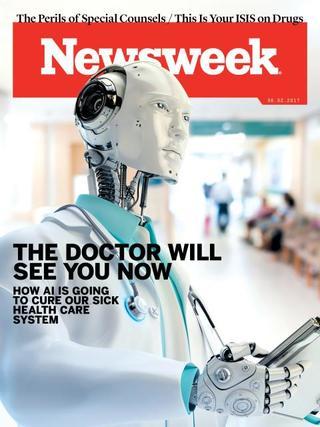 全球週刊封面: 拯救健保體系 端看人工智慧 (20170528 新聞週刊)