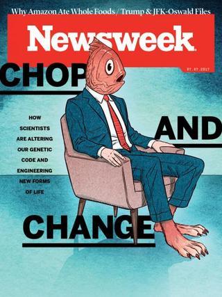 全球週刊封面:解放動物、解放人類:基因革命旋風襲來 (20170702 新聞週刊)