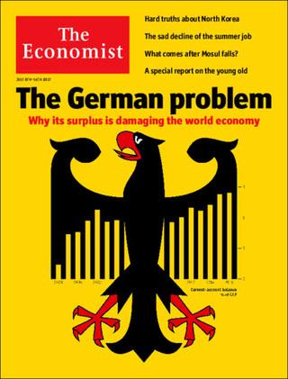 全球週刊封面:德國不能再當守財奴(20170709經濟學人)
