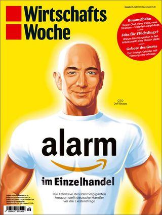 全球週刊封面:亞馬遜商業帝國來襲 德國只能挨打? (20170716 德國經濟週刊)