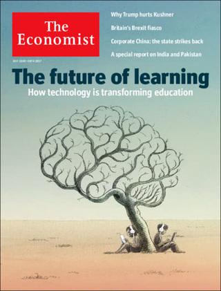 全球週刊封面:未來學習:當科技翻轉教育 (20170723 經濟學人)