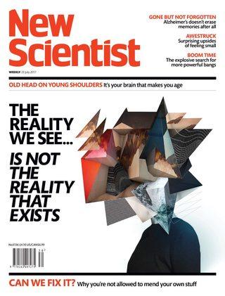 全球週刊封面:透視宇宙真相的一張幾何圖 (20170730 新科學人)