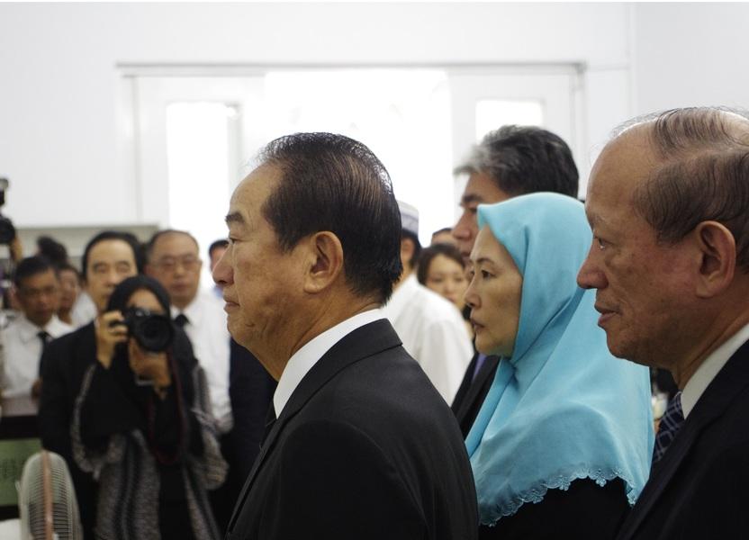 親民黨主席宋楚瑜在內的多位政界重量級人物出席追悼劉文雄。(photo by 邱慕天/台灣醒報)
