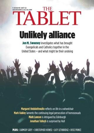 全球週刊封面:美國天主教與福音派的詭異結盟 (20170806 天主教石板週刊)