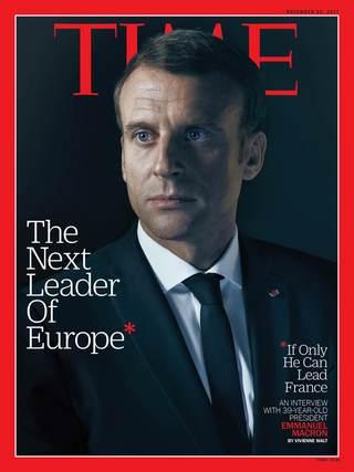 專訪馬克宏:自由世界新領導者(20171113 時代雜誌)