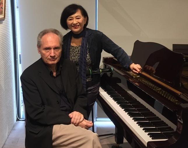 鋼琴家魏樂富和葉綠娜的演奏會上,將展現雙鋼琴、四手聯彈與詩作朗誦。(photo by林晏如/台灣醒報)