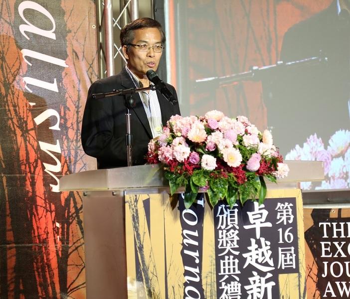 平面及網路(文字)類召集人張讚國認為,台灣新聞界整體仍值得更高的期待和要求。(photo by廖玄宇/台灣醒報)