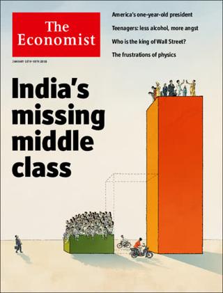 印度中產階級蒸發了?(20180114 經濟學人)