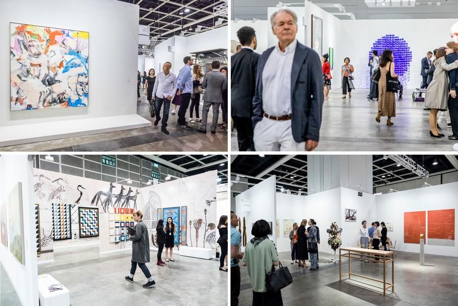第六屆巴塞爾藝術展揭幕,共有248間來自32個國家及地區的頂級藝廊參展。(photo by artsy.net/ Art Basel)