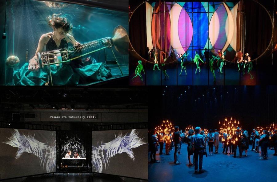 第九屆新視野藝術節10月在港舉行,以創新、跳脫想像為基調,透過多個大膽新奇作品及不同類型的創作,讓人感受藝術的跨界魅力。(photo by港府新聞處)