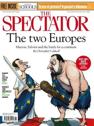 馬克宏與薩尼的歐洲精神領袖之爭(20180909 觀看者)