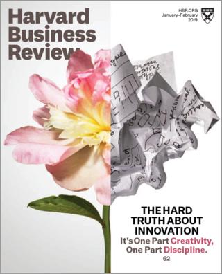 企業效率導向,市場付代價(20190103哈佛商業評論)