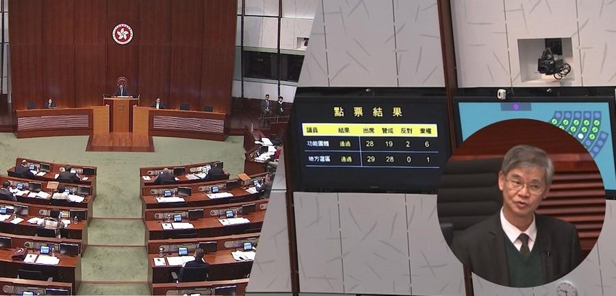 香港立法會通過檢討綜援計劃 ,包括擱置將領取長者綜援合資格年齡收緊至65歲的無約束力議案。圖為勞工及福利局局長羅致光。(photo by香港電台)