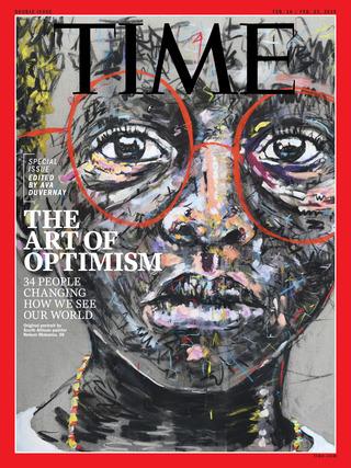 正能量的藝術創作(20190210時代雜誌)