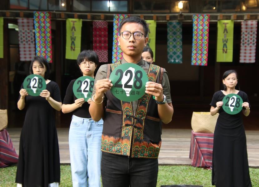 60個民間團體宣布將於2/24與人民一起走上街頭,紀念228事件72週年。(photo by 施養正/台灣醒報)