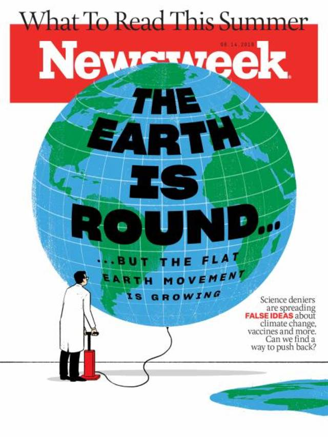 「地平論」當一回事:科學主義與偽科學(20190609新聞週刊)